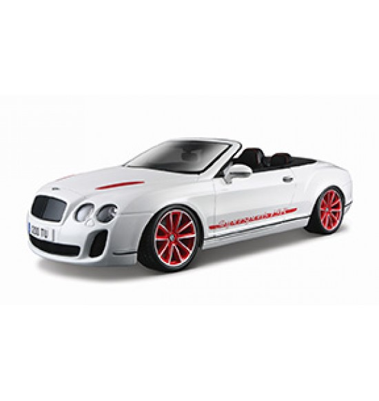 1:18 BENTLEY CONTINENTAL CONVERT ISR WHITE