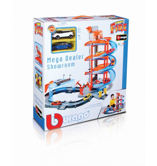 1:43 GARAZ MEGA DEALER SHOWROOM + 2 AUTA