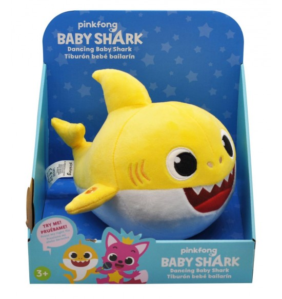 Baby Shark tancujúce, plyš