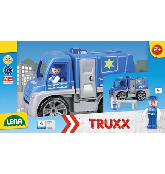 TRUXX polícia, okrasný kartón