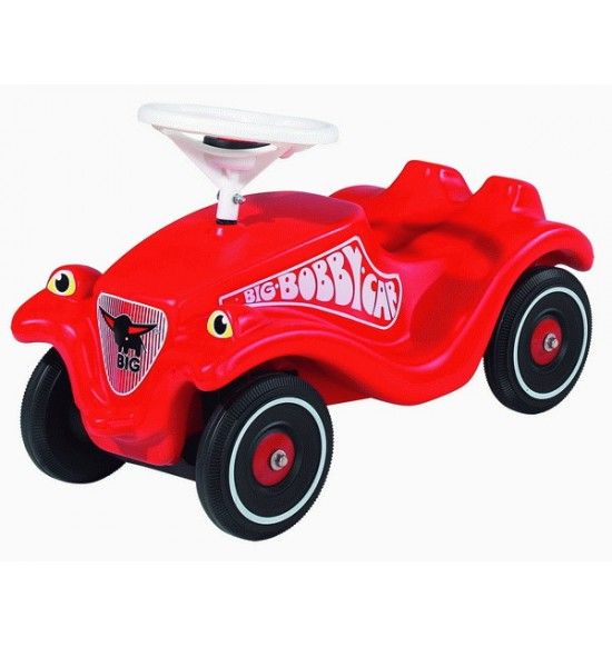 Auto odrážadlo BIG BOBBY CAR CLAS červené