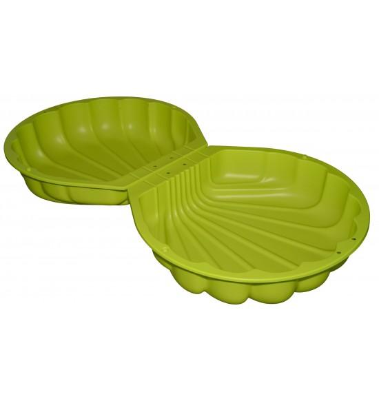 BIG Pieskovisko mušľa zelené