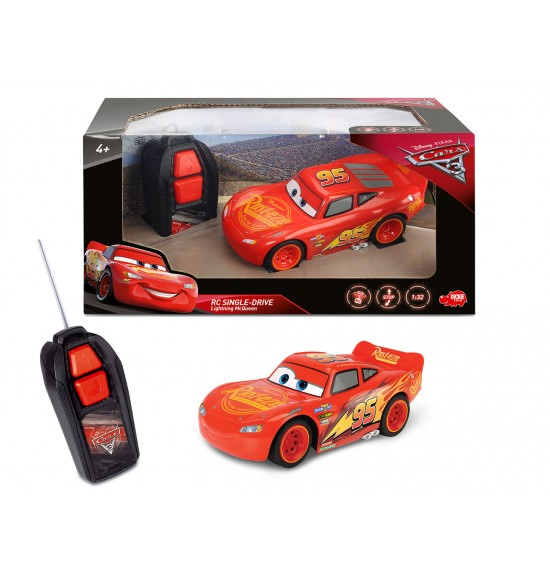 RC Cars 3 Blesk McQueen Single Drive 1:32,1kan 4006333054198