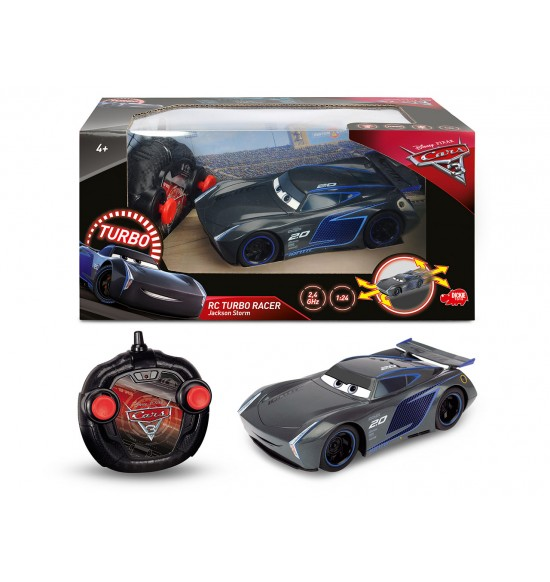 RC Cars 3 Turbo Racer Jackson Storm 1:24, 17cm, 2 kan 4006333054228