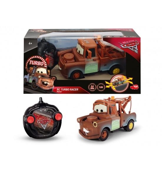 RC Cars 3 Turbo Racer Mater 1:24, 17 cm, 2kan