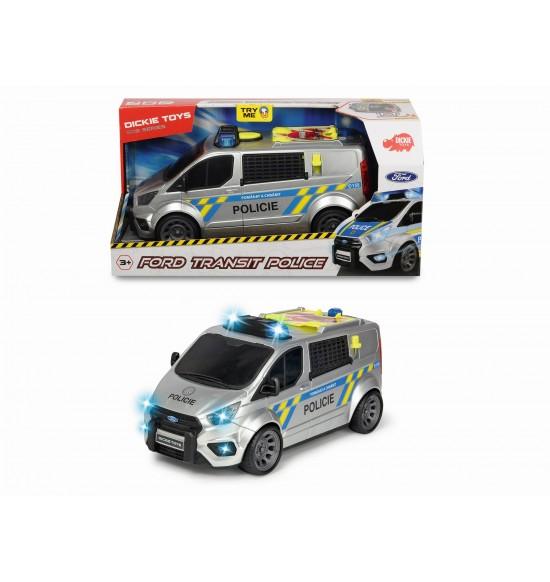 Policajné auto Ford Transit, česká verzia