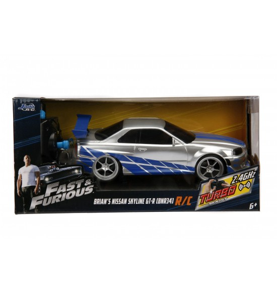 Rýchlo a zbesilo RC auto Nissan Skyline 1:24