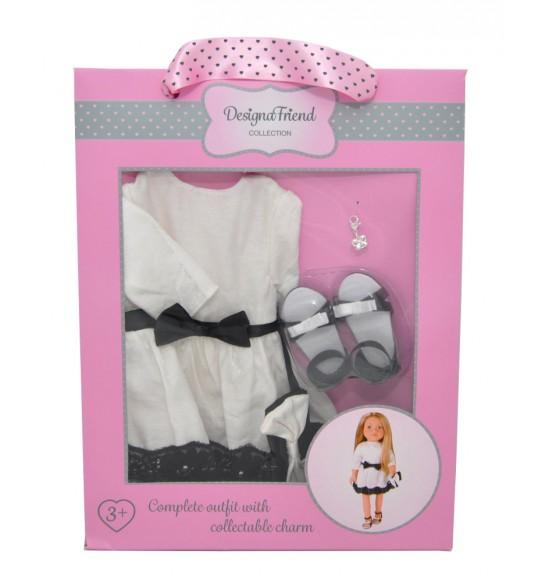 Spoločenské šaty pre bábiky design