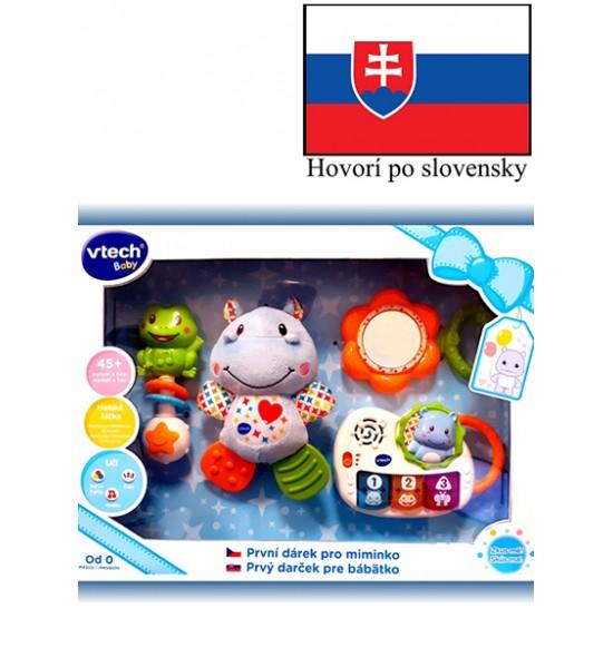 Vtech Prvý darček pre bábëtko (SK) - modrý