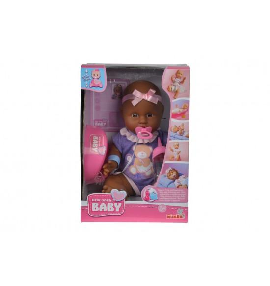 NBB Bábika bábätko černoško 30 cm