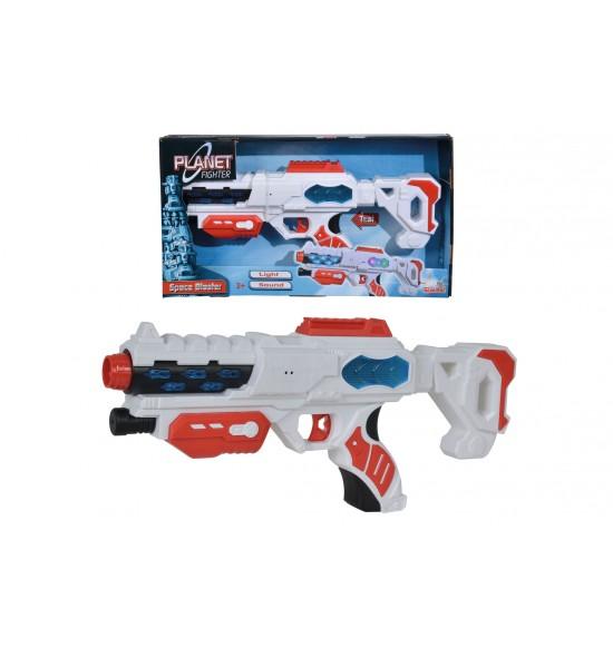 Planet Fighter Vesmírna laserová pištoľ