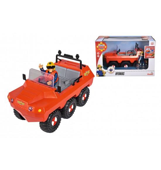 Požiarnik Sam Auto Hydrus s figúrkou