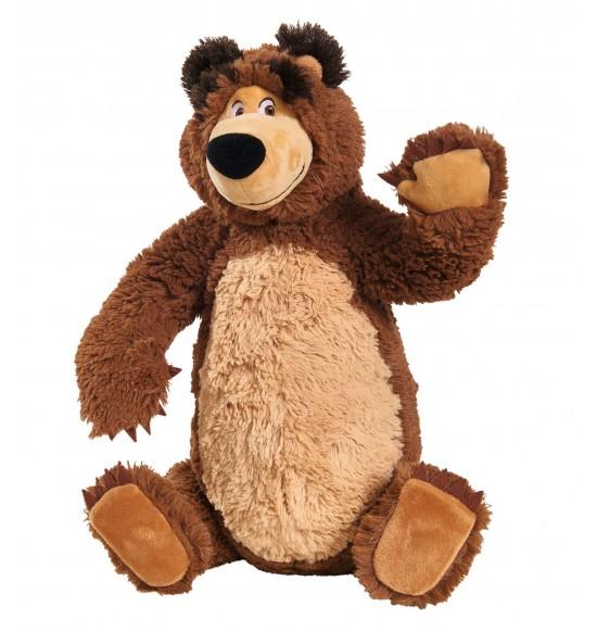 Máša a medveď Súprava Miško 43 cm plyšový a bábika Máša 23 cm
