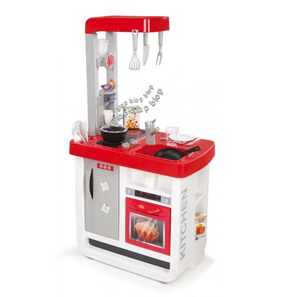 Kuchynka Bon Appetit elektronická, červeno-biela