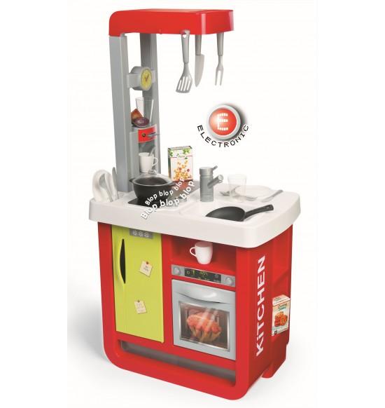 Kuchynka Bon Appetit elektronická, červeno-zelena