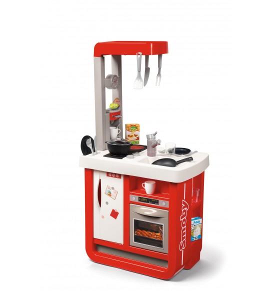 Kuchynka Bon Appetit červeno-biela elektronická
