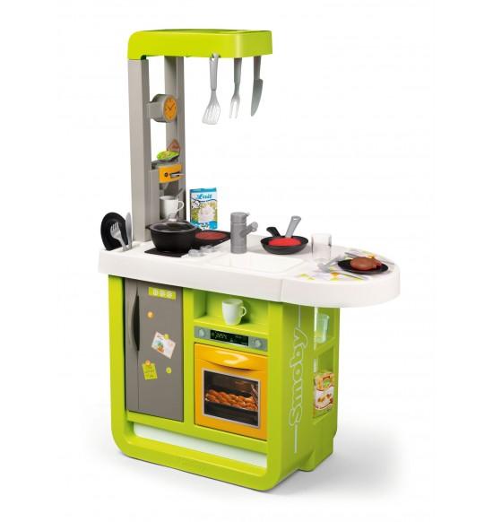 Kuchynka Bon Appetit Cherry zeleno-žltá elektronická