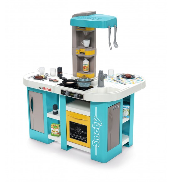 Kuchynka Studio Tefal XL Bubble modro-žltá elektronická