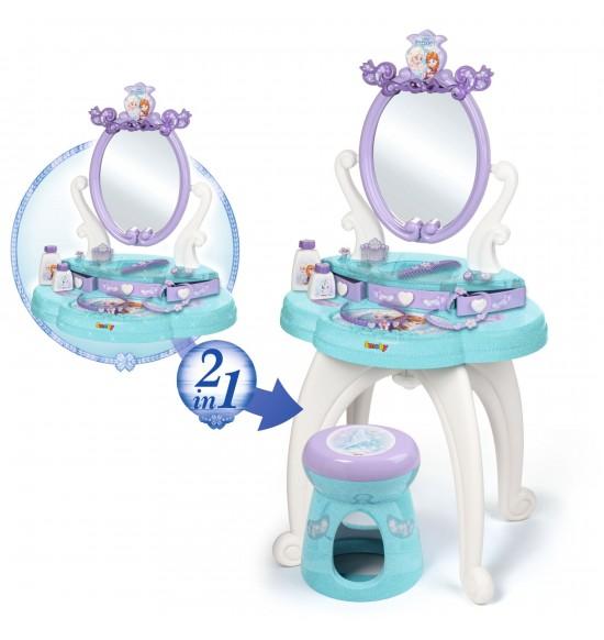 Frozen Toaletný 2v1 stolík so židličkou