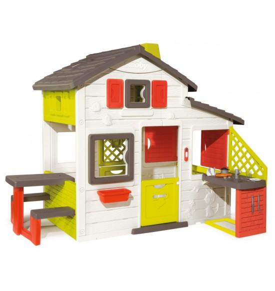 Domček Friends House s kuchyňou a vodou