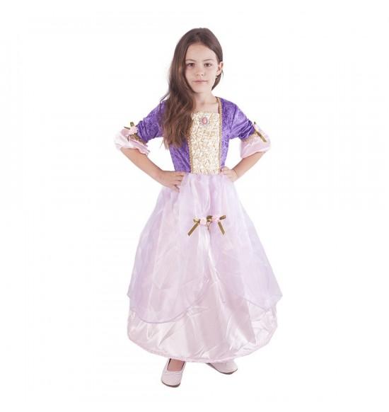 Detský kostým princezna Fialka (M)