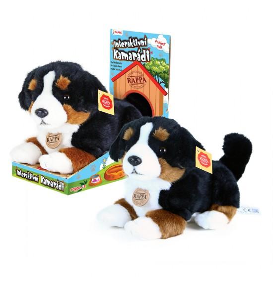 Pes Berny - plyšový interaktívny kamarát