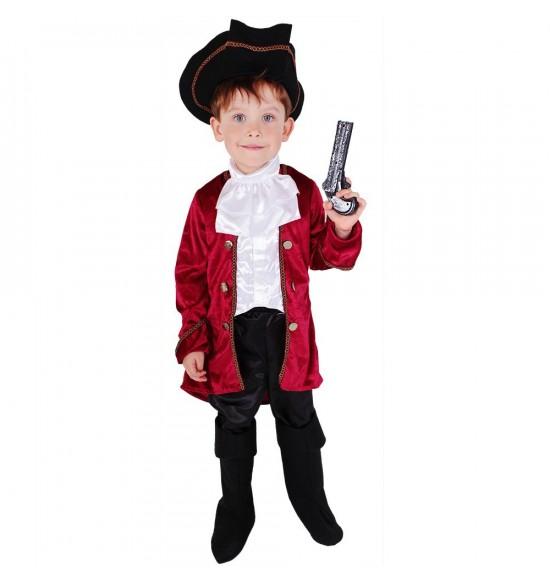 Detský kostým Kapitán Hook (L)