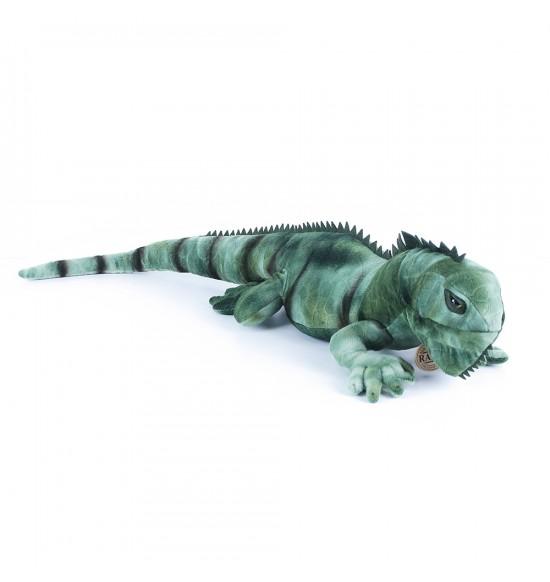 plyšový leguán zelený, 70 cm