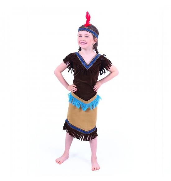 Detský kostým indiánka (S)