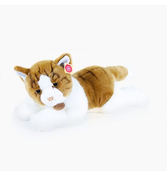 Plyšová mačka ležiaca, 50 cm