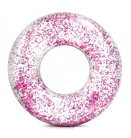 nafukovacie koleso plávacie flitrové 119 cm, 2 farby