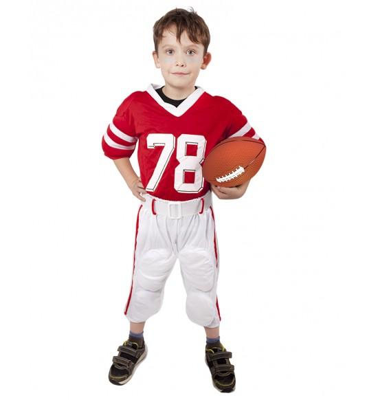 Detský kostým Futbalový hráč (M)