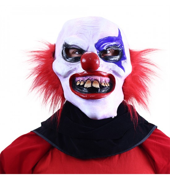Maska karnevalová klaun / Halloween