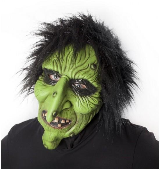Maska karnevalová čarodejnica / Halloween