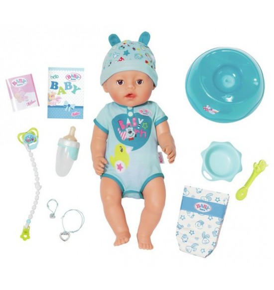 bábika BABY born, chlapec