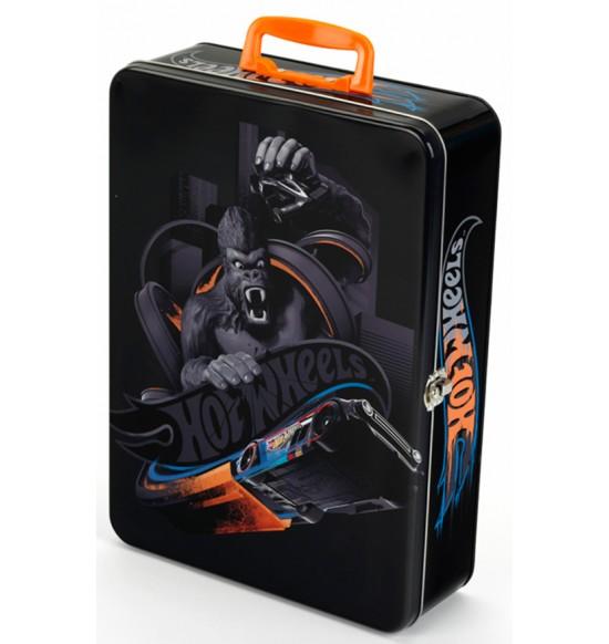 Zberateľský kufrík Hot Wheels, 50 kusov