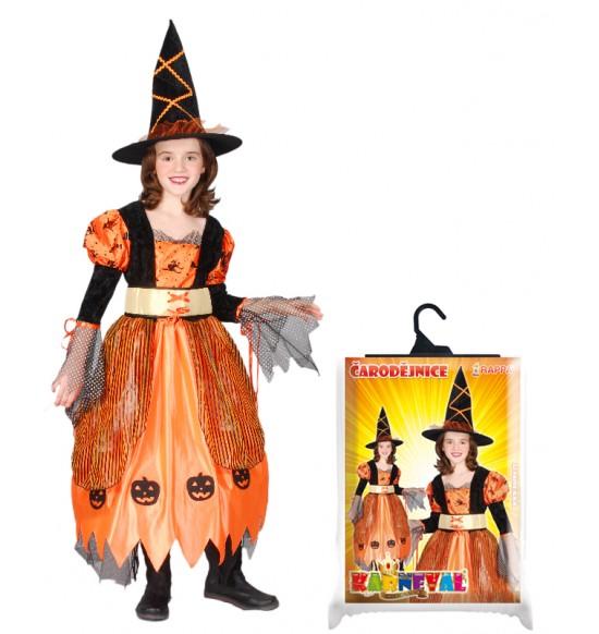 kostým Halloweenský, vel. M