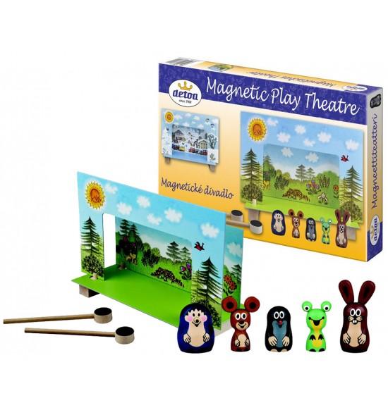 divadlo magnetické - Krtko
