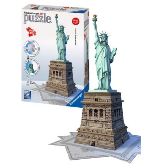 puzzle Socha Svobody 3D 108d