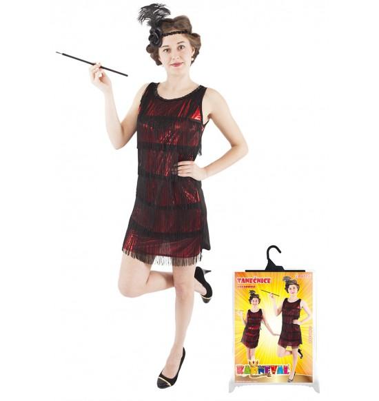 karnevalový kostým swing šaty pre dospelých