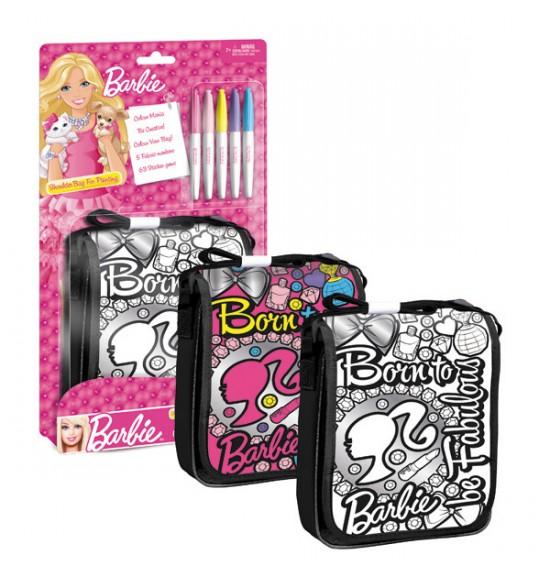 taška k vymaľovanie cez plece Barbie