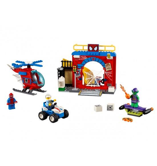 LEGO Juniors 10687 Spidermanovo skrývanie