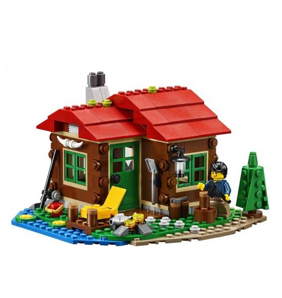 LEGO  Creator 31048 Chata pri jazere