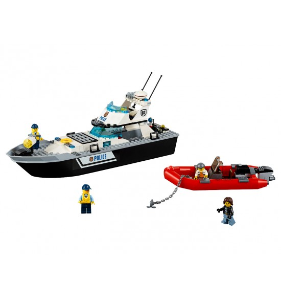 LEGO  City 60129  Policajná hliadková loď