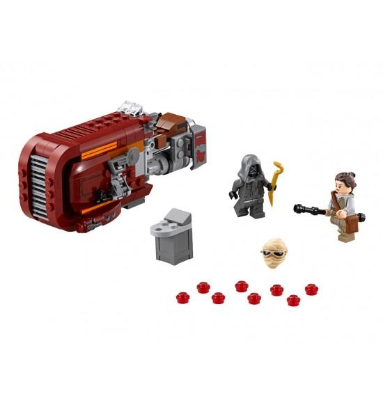 LEGO  Star Wars 75099 Rey's Speeder (Reyin speeder)