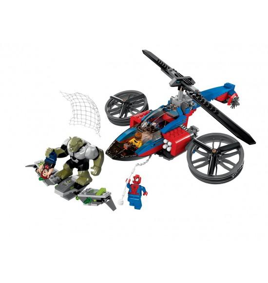 Pavúčí záchranný vrtuľník