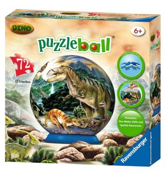 Dinosaury Puzzleball 72d