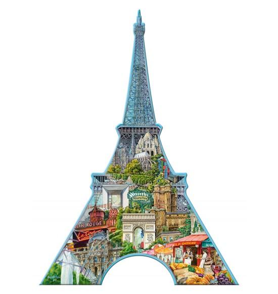Eiffelova vežža, Parힾ