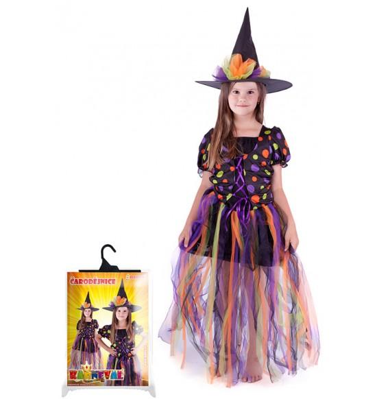 kostým čarodejnice, dlhá sukňa, veľ. M