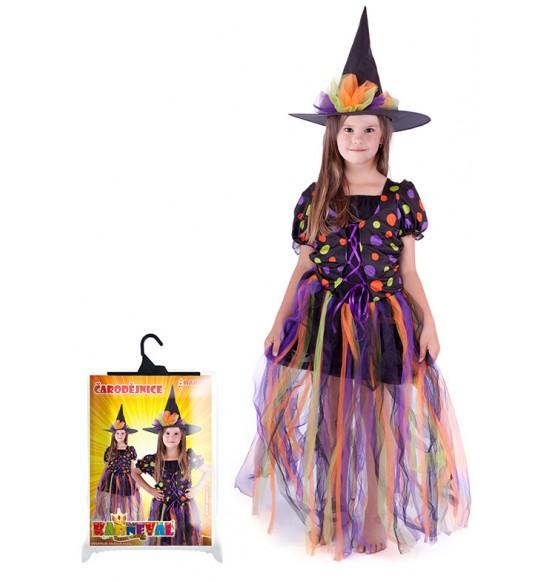 kostým čarodejnice, dlhá sukňa, veľ. S